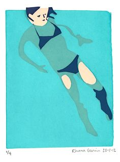 A blog about illustration, pattern, design, screen prints by Rhona Garvin.