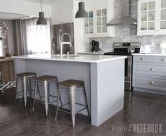 Ikea Laxarby White | Kitchen | Pinterest | Kitchens, Kitchen Decor And Log  Cabin Kitchens