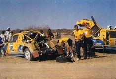 DAKAR 1987 205 Ari Vatanen-Bernard Giroux Peugeot 205 T16 ( 1 place) 206 Shekhar…