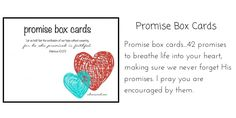 Promise Box Cards