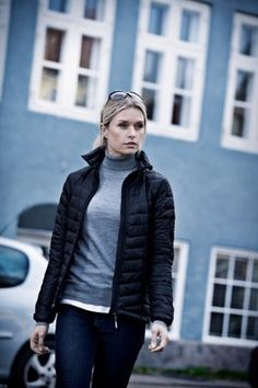 #ASPEN Luxurious looking lightweight and fashionable #downjacket #dunjakke #connexpromotion