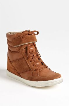 I am a Topshop SC, which means I stare at Topshop product all day, and all day I've been coveting these. Topshop 'Aerobic2' Wedge Sneaker available at #Nordstrom