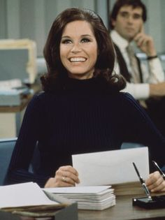 All feminists should celebrate Mary Tyler Moore. Proudly toss your cap as she taught us all.