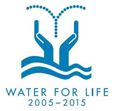 UN Water for Life Decade logo, also World Water Day is on March 22, 2013