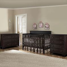 Graco Baby Cribs and Nursery Furniture 4 Drawer Dresser, Drawers, Double Dresser, Convertible Crib, Nursery Furniture, Baby Cribs, 3 Piece, Espresso, Free Shipping