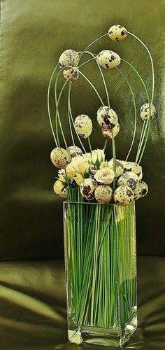 Composition florale Printemps et Pâques