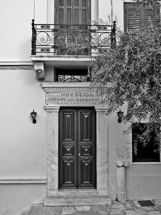 Kanellopoulos Museum, Panos Street, Plaka Greece Architecture, Old Greek, Passport Stamps, Photo B, Athens Greece, Greeks, Neoclassical, Greece Travel, Deep Blue