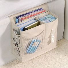 Bedside Storage Pocket