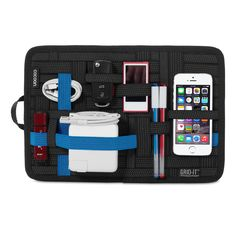 Shop online grid pad - electronics cosmetics tool organizer bag pouch for ipad iphone tablet accessories, utility items, stationaries and other items Macbook, Apple Store Us, Apple Online, Backpack Organization, Travel Organization, Cocoon, High Tech Gadgets, Tech Gifts, Ipad Mini