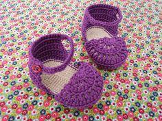 Sandals tutorial #crochet