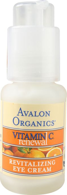 Avalon Organics Vitamin C Renewal™ Revitalizing Eye Cream -- 1 fl oz