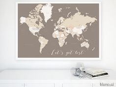 30x20 printable world map countries names us by blursbyaishop custom quote color size printable world map custom world map with country names capitals main cities us state names gumiabroncs Images
