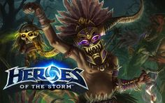Hero Of The Storm: Blackhearts Bay - Nazeebo (Witch Doctor) Ranged Speci...