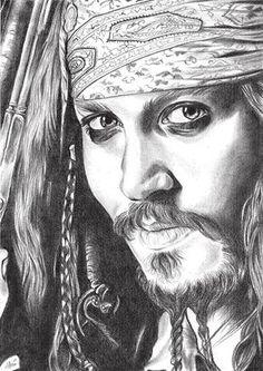 piratas del caribe dibujo a lapiz - Buscar con Google