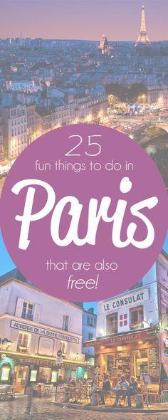 25 choses à faire gratuites à Paris