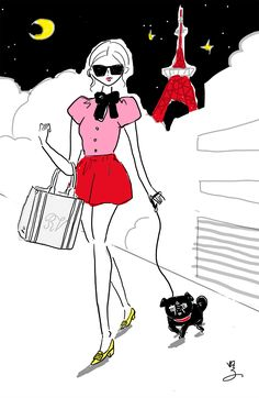 Roger Vivier bag and shoes Roger Vivier, Minnie Mouse, Disney Characters, Fictional Characters, Snoopy, Bag, Illustration, Shoes, Fashion