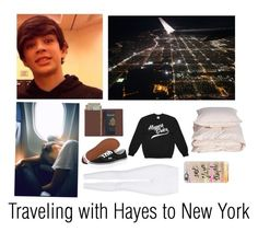 """""""Traveling with Hayes❤️"""" by lindseypage ❤ liked on Polyvore featuring Topshop, Royce Leather, Vans, Casetify and Aiayu"""