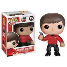 The Big Bang Theory Pop! Vinyl Figure Howard Wolowitz: Star Trek Red Shirt - Funko Pop! Vinyl - Category