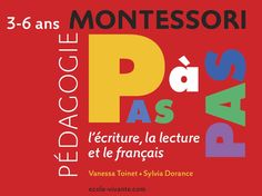 Pédagogie Montessori - la lecture French Teaching Resources, Teaching French, Education Positive, Baby Education, Formation Montessori, Maria Montessori, Learning Process, French Lessons, Infant Activities