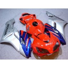 Honda CBR1000RR 2004-2005 Injection ABS Fairing - Fireblade - Red/Blue/Silver | $639.00