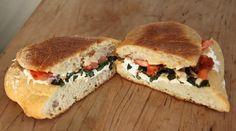 love Panera Bread's Tomato Mozzarella Panini with sun-dried tomatoes ...
