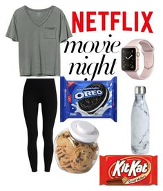 """""""Movie Night """" by addisongrace11 on Polyvore featuring S'well, Gap and OXO"""