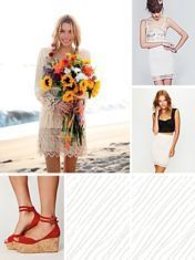 sun flowers and pretty dresses