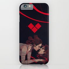 Reylo Force Bonded Phone Case ~ $35 ~ Star Wars Gifts! ~ Rey & Kylo Ren Kiss Elithien Painting