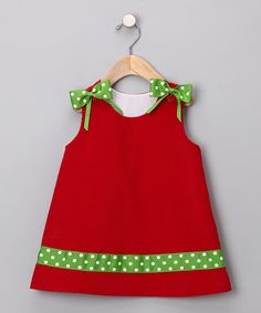 Need to make the girls a dress like this for Christmas