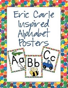 These bright and fun alphabet posters are perfect for your primary level classroom.  Each poster includes the letter and image that represents the beginning sound.  These posters are perfect for teaching your students the alphabet.  Whether you teach preschool, pre-k, kindergarten or first grade your students will be drawn to the colorful design.  Great resource for any elementary classroom!