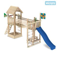 Spielgerät Wickey Fantasy Tree,  Spielgeräte mit Wackelbrücke