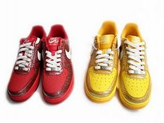 check out 8d4f8 574ba fashion shoes esty Nike Air Force 1 Low Beet Swan Challenge Red