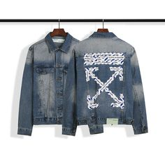 Off White Jacket, Mv Agusta, White Man, Online Price, Denim, Chic, Best Deals, Casual, Jackets