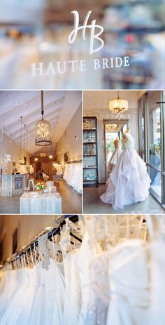 Los Gatos bridal boutique Haute Bride + Hayley Paige gowns. Heaven? Yes. Yes and yes. | k.holly