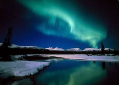 Anywhere in Alaska that I could see the Northern Lights