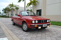 SWEET 1987 BMW 325i Convertible- my first car. It was 10yrs old by the time I got it...but it was awesome!