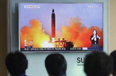 Nordkorea provoziert mit ballistischen Raketen...
