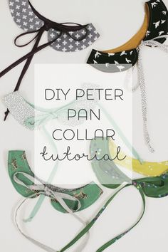 Peter pan collar DIY Sewing Tutorial