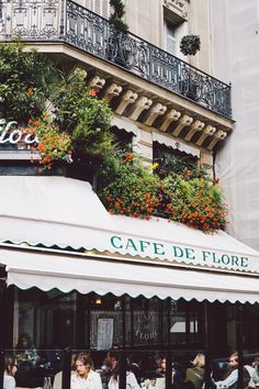 Cafe de Flore, Paris, France