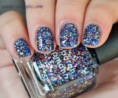 Scrangie: Deborah Lippmann Stronger (created with Kelly Clarkson) Fall 2013 Swatches and Review