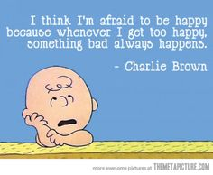 The Charlie Brown Paradox… // I like to keep my expectations low so I'm always happy in the end. :P