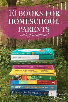 With so many books for homeschool parents out there, which ones are worth your time to read? Since we know that your time is limited, we have rounded up our top 10 picks so you don't have to! Psst... there is a giveaway below!!