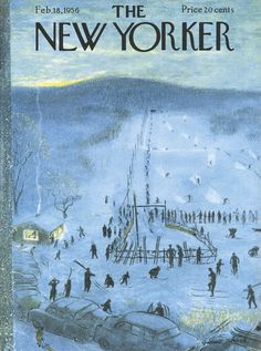 The New Yorker - Saturday, February 18, 1956 - Issue # 1618 - Vol. 31 - N° 53 - Cover by : Garrett Price