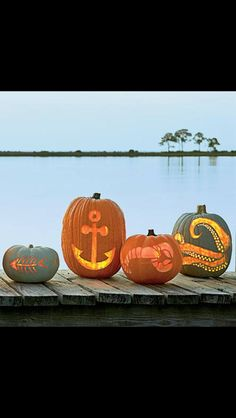 Beachy Pumpkins
