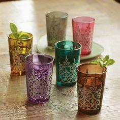 Moroccan Tea Glasses - VivaTerra