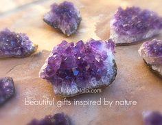 Beautiful Amethyst Crystals #crystals