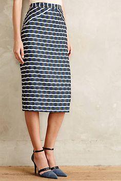 Bluepoint Pencil Skirt