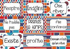 Mon organiseur: cartes ou gommettes? | Césame et ses états d'âme Encouragement, Bullet Journal, Positivity, Genre, Scrapbooking, Education, Ideas, School, Pictures