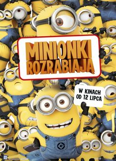 Minionki rozrabiają / Despicable Me 2 Despicable Me 2, Free Tv Shows, Party Service, 2 Movie, Movies And Tv Shows, Mickey Mouse, Hungary, Cinema Movie Theater, Poster