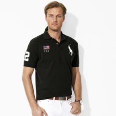 Classic-Fit Flag Polo - Create Your Own Classic-Fit  - RalphLauren.com